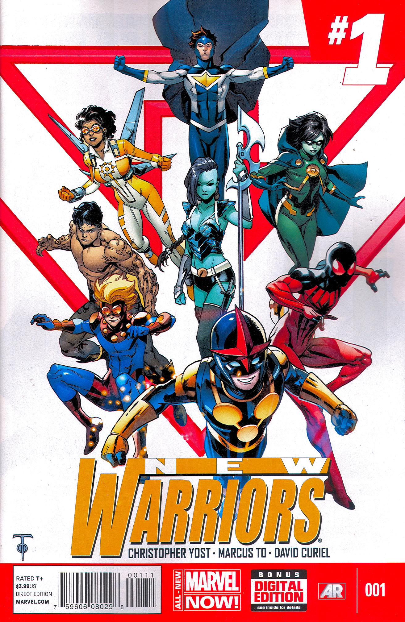 New Warriors #1 (V5)
