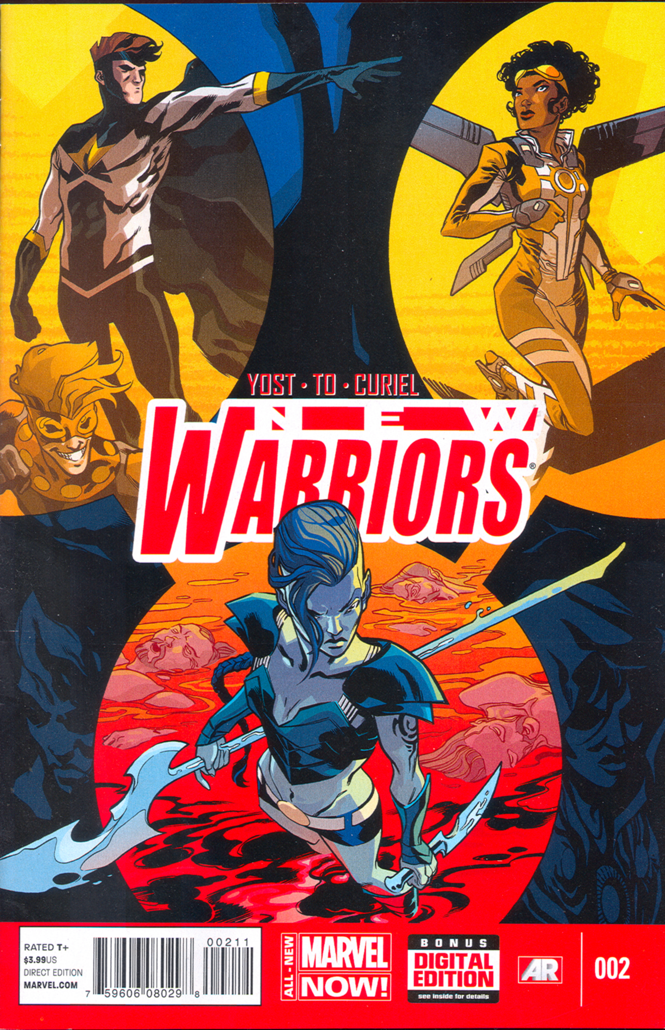 New Warriors #2 (V5)