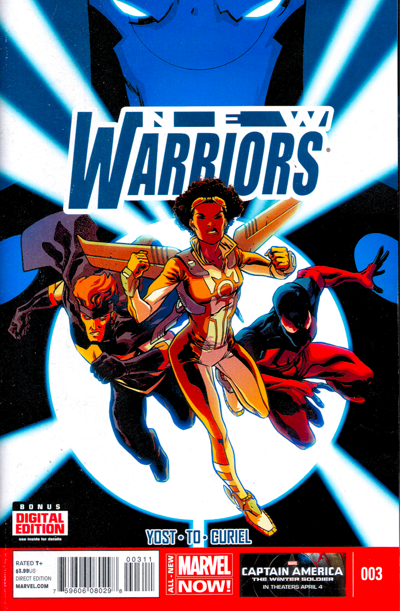 New Warriors #3 (V5)
