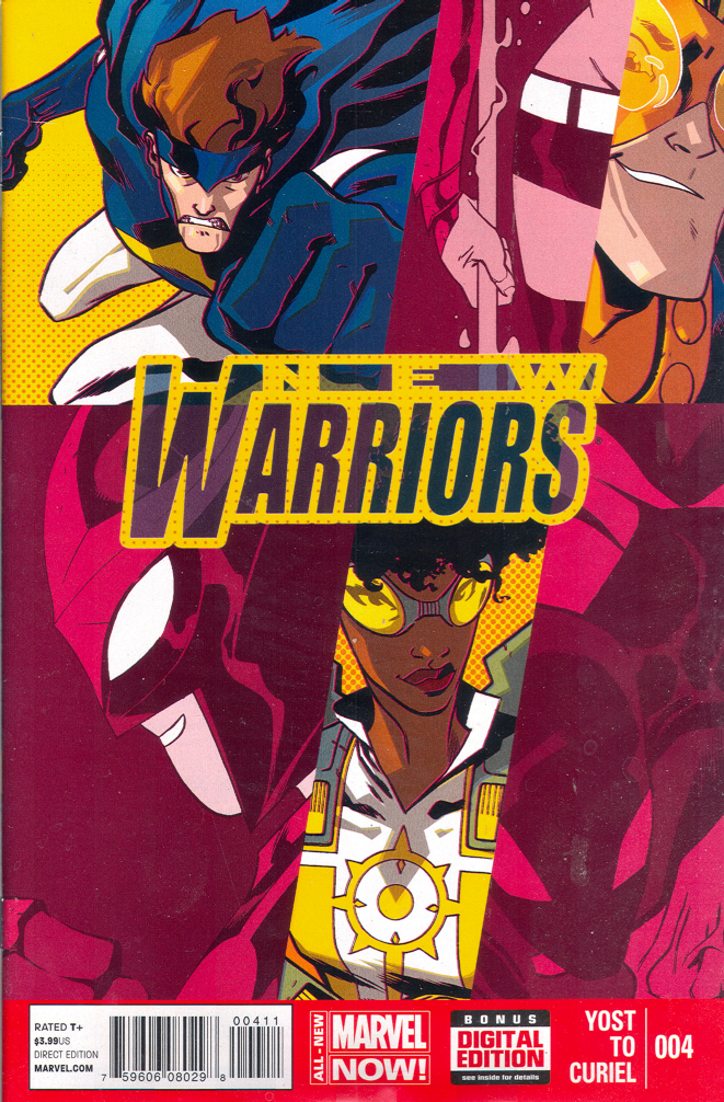 New Warriors #4 (V5)