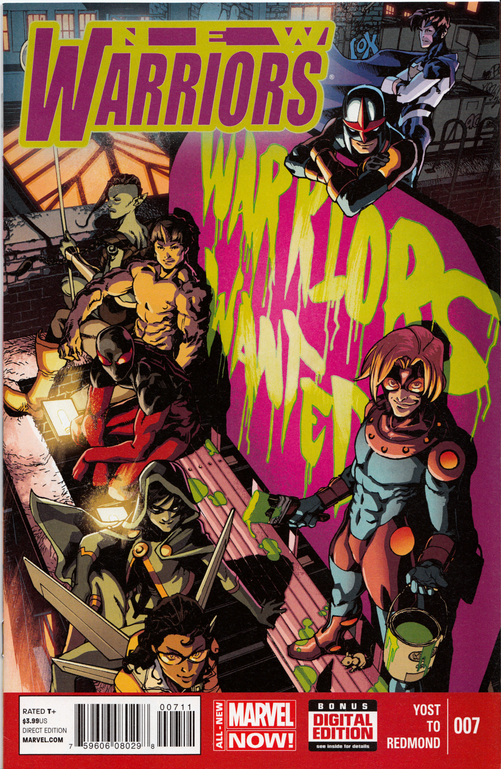 New Warriors #7 (V5)