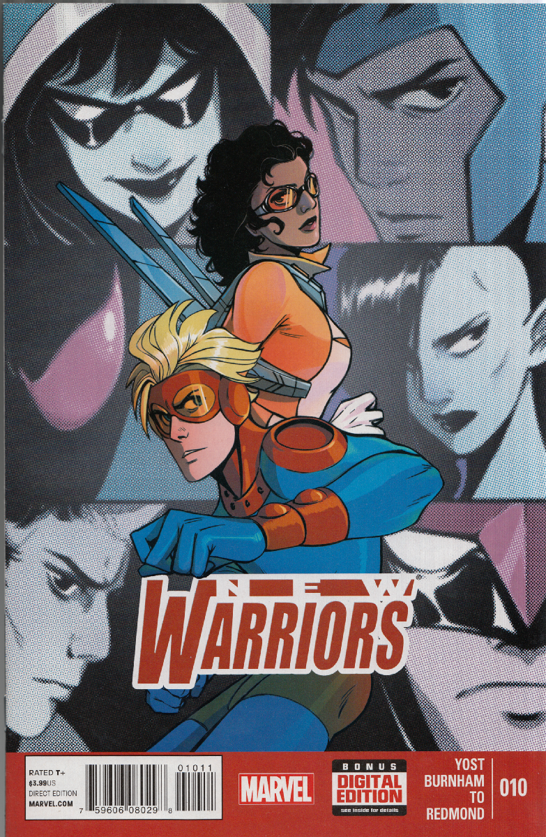 New Warriors Vol.5 Series - #10.