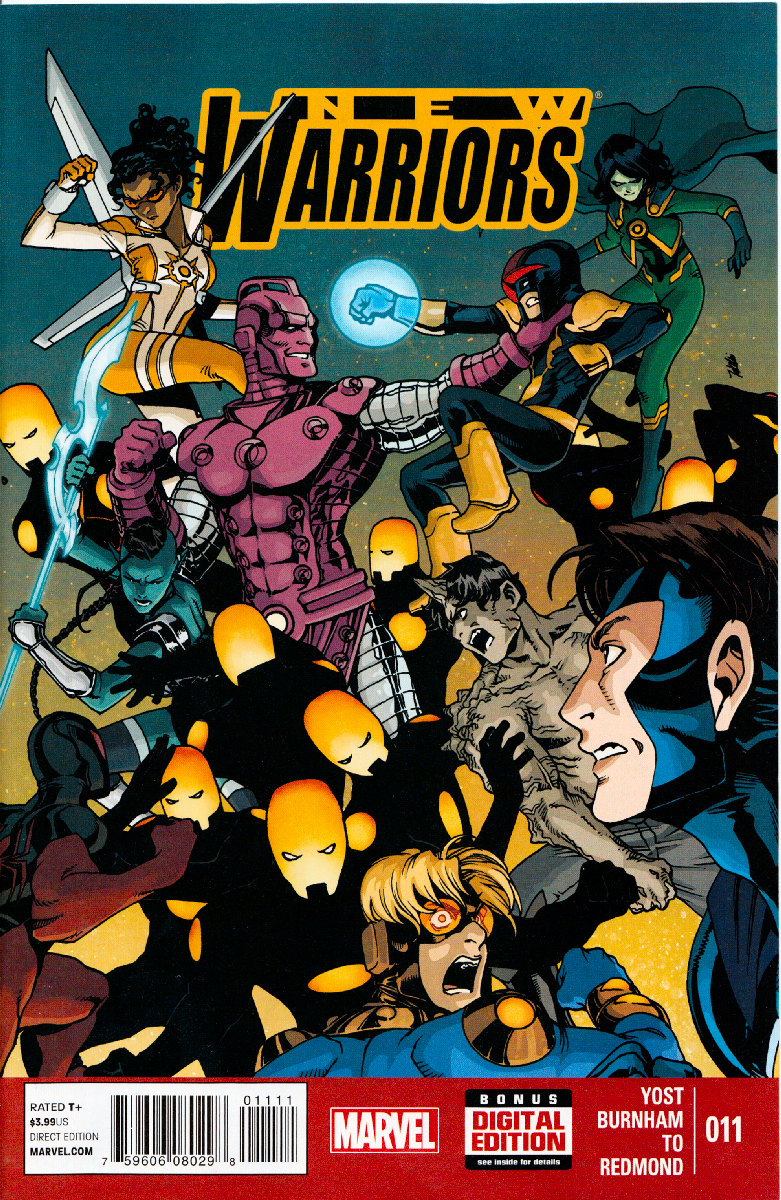 New Warriors Vol.5 Series - #11.