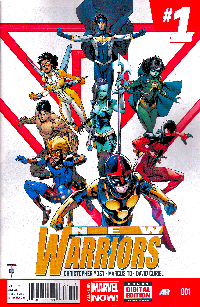 New Warriors Vol.5 Series - #1.