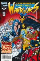 New Warriors #53 (Volume 1)