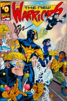 New Warriors #0 Volume 2 - Wizard Exclusive.